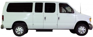 Side View - Alaska rental vans