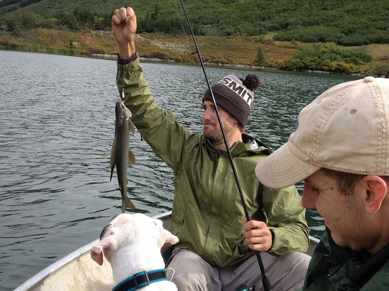 Fishing and relaxing at the crescent lake cabin in alaska for Crescent lake fishing