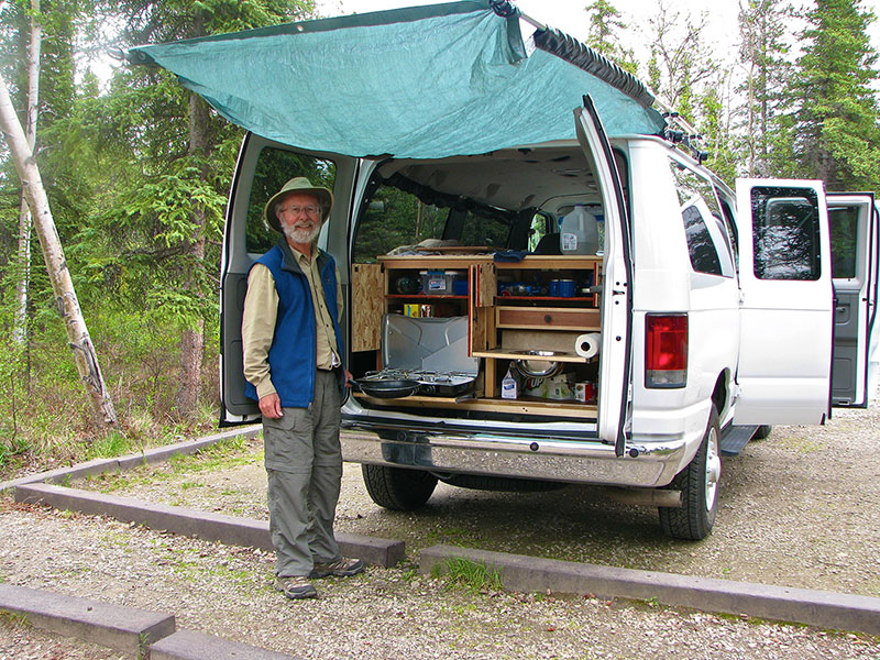 Photos Of Our Alaskan Camper Vans In Action