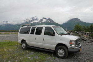 Overnight Campervan Parking Just Outside Valdez Alaska