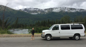A great view with a Northwest Van Campers van